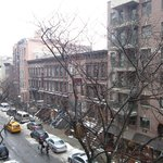 View of 51st street from my room