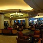 Área de bar y lugar de desayuno