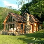 Family Luxury Log Cabins with Private Outdoor Hot Tub