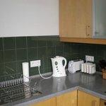 Apartment, kitchen corner.