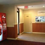 Front Desk Area & Pop Machine