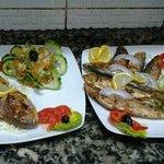 sardines et dorades grillées