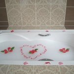 My daily bath set up by David