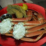 Crab Legs and Catfish