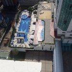pool on the eleventh floor