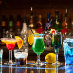 Selection of drinks on offer