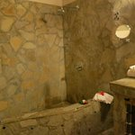 Shower at Caracol