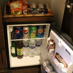 Fully Stocked Fridge and Snacks Included