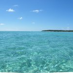 The clear blue sea - bliss!