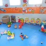 Children's gym area