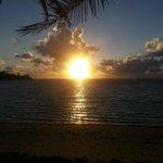 Sunrise on paradise