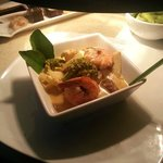 Top seller (Thai green or red curry, choices of vegetable, prawns, chicken