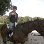 Zena on her Horse
