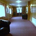 sunfilled entrance hall