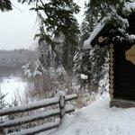 Le Lac l'hiver