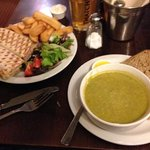 panini and soup stater