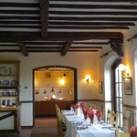 View into the carvery