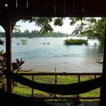 View of the Mekong from Bungalow #5