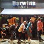Happy Customers getting into the Darwins Spirit!