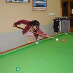 playink snooker