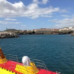 the submarine tour (50 euros each) at San Miguel Marina