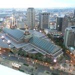 View of Harrahs Casino and City