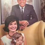 JFK & Jackie enjoying a tender moment!