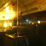 l'interno del bus