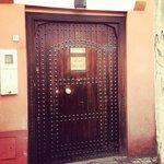 Front Door of Riad Assouel