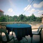 Balkon mit schöner Aussicht
