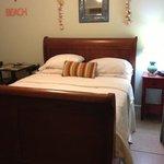 cozy, clean room