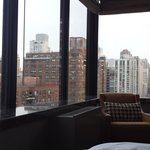 View from the bed