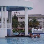 Swim up bar at Infinity Pool