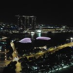 marina bay area from the 35th floor