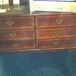 Dinged Dresser