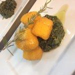 Baccalà in polenta e friarielli
