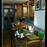 Friday and Saturday night you can dine @ Paccamora cafe' who provides real Italian food and a ve