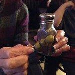 HUGE olives!