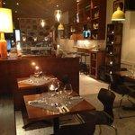 Inside Barcola Bistro