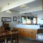 Kitchen/dining area at Meadowbank
