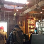 Visit the small store at the winery