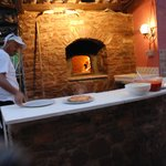 special treat wood fired fresh homemade pizza
