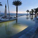 Left side of Infinity pool facing ocean.