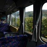 路線バスなら、ミカン山の間近を・・・