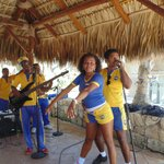 Maria (Star Friends) and the Punta Cana live band