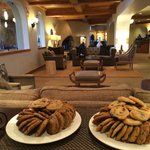 Apres Ski Cookies in the Lobby