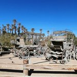 Old wagon display