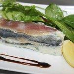 Mille feuille de sardine!
