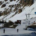 """Border control' between Alta and Snowbird"