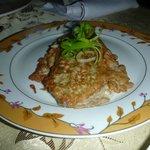 Eggplant Omlette